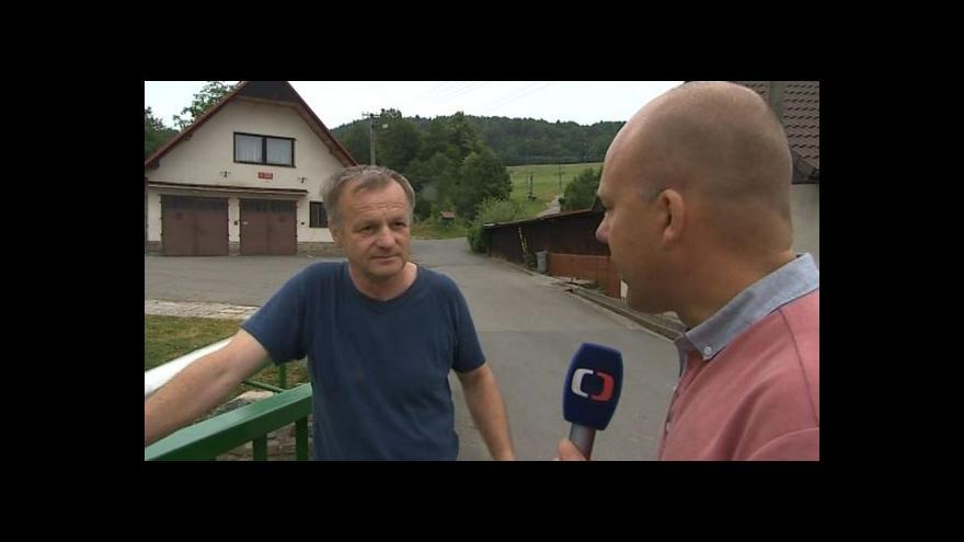 Video Hovoří starosta Rusavy Bohumil Škarpich (nez.)