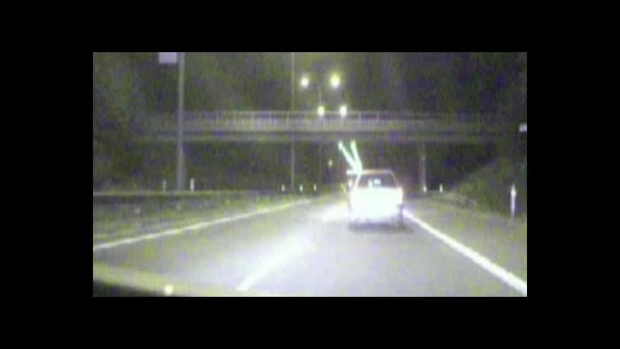 Video NO COMMENT: Policejní honička (záběry Policie ČR)