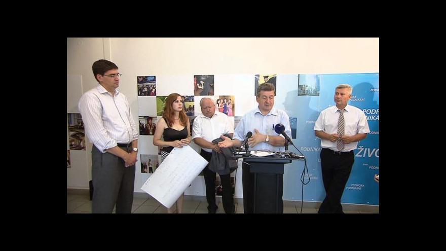 Video Brífink krizového štábu k útlumu průmyslu v MS kraji
