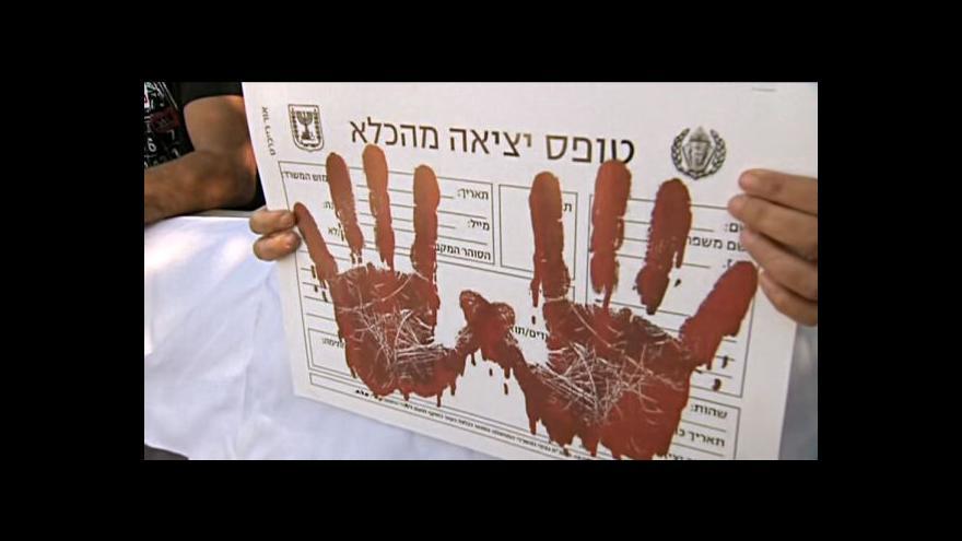Video Izraelská vláda propustí 104 arabských vězňů