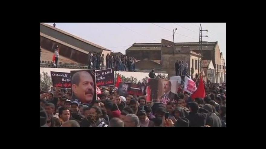 Video Policie rozháněla v Tunisku demonstrace slzným plynem