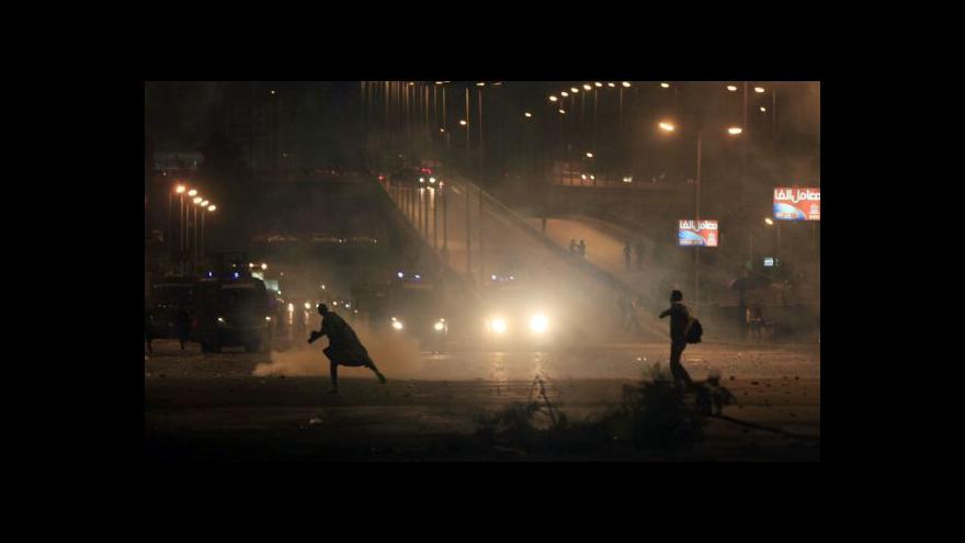 Video Egyptem a Tuniskem zmítají nepokoje