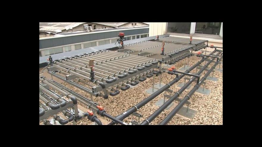 Video Ve Francii vzniká ekodům z vodních řas