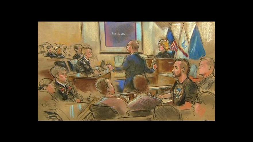 Video Soud s Manningem se chýlí ke konci