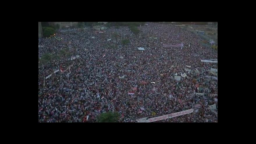 Video Noční násilí v Egyptě a v Tunisku
