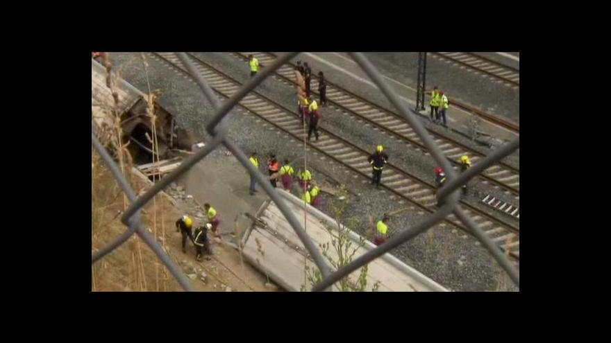 Video Policie vyslechne strojvedoucího vlaku