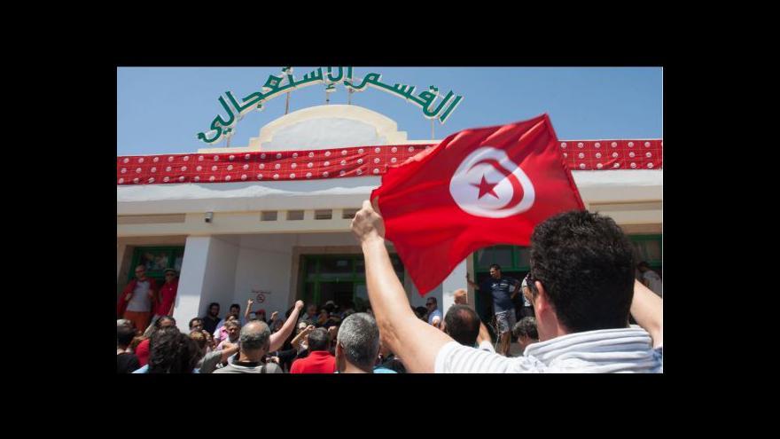 Video Neznámí útočníci zavraždili tuniského opozičního předáka
