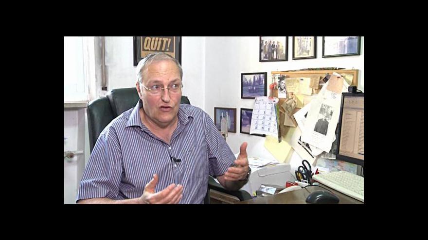 Video Rozhovor Jakuba Szántó s Efraimem Zuroffem