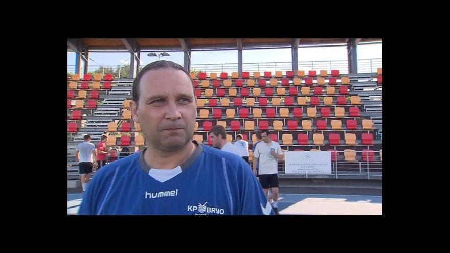 Video Rozhovor s trenérem Janem Hegarem