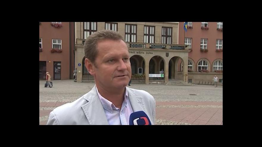 Video Hovoří primátor Zlína Miroslav Adámek (TOP 09)