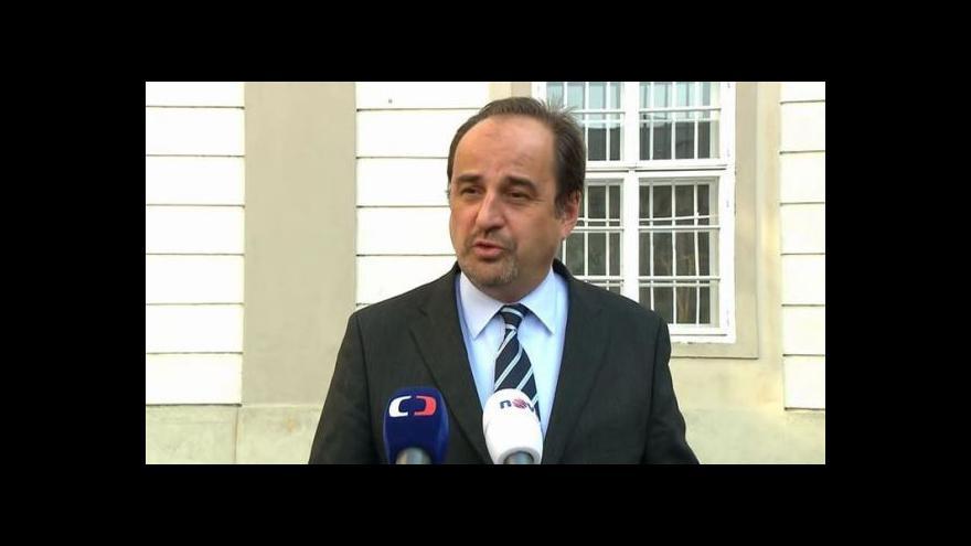 Video Brífink ministra zahraničí Kohouta k novým velvyslancům