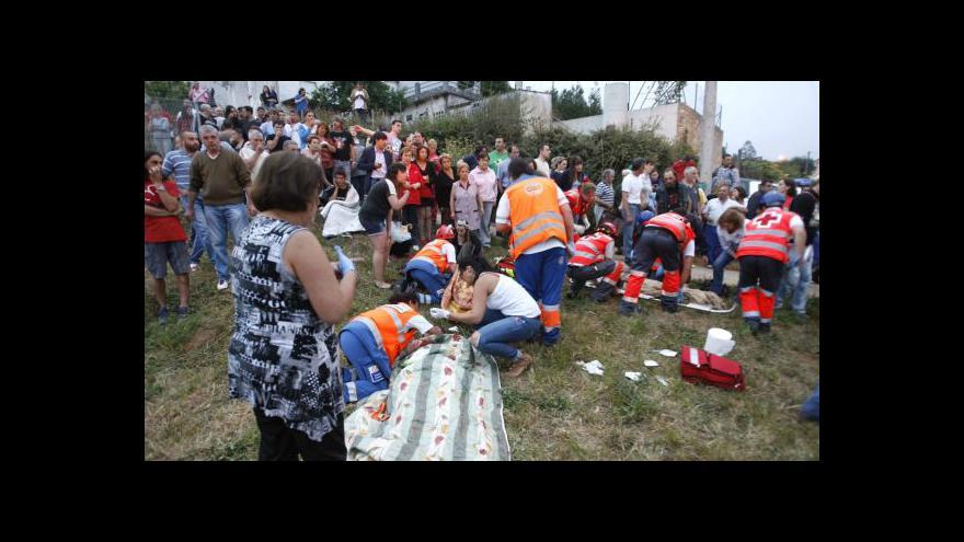 Video Tragédie ve Španělsku obrazem