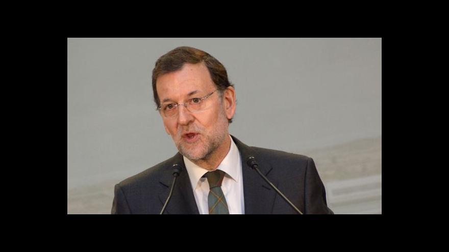 Video TK španělského premiéra na místě nehody