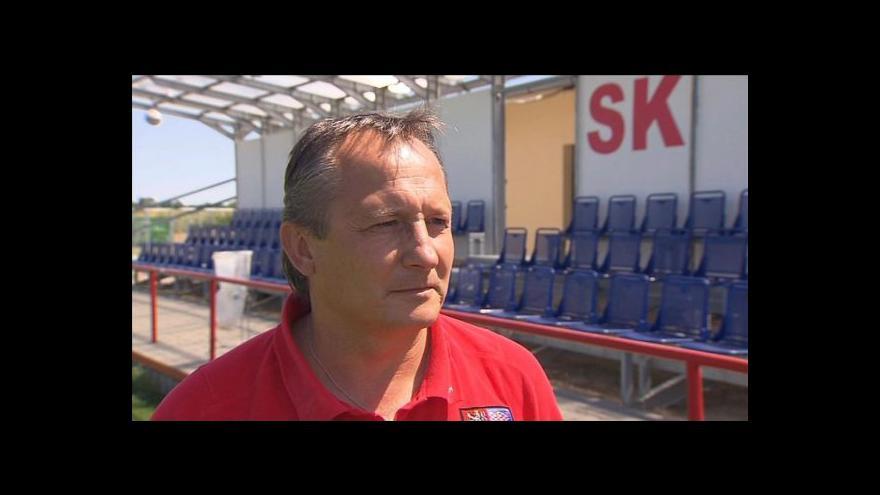 Video Rozhovor s trenérem U-16 Václavem Černým