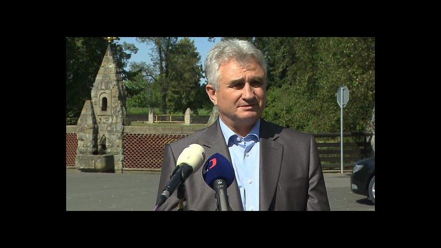 Video Vyjádření Milana Štěcha po setkání s prezidentem