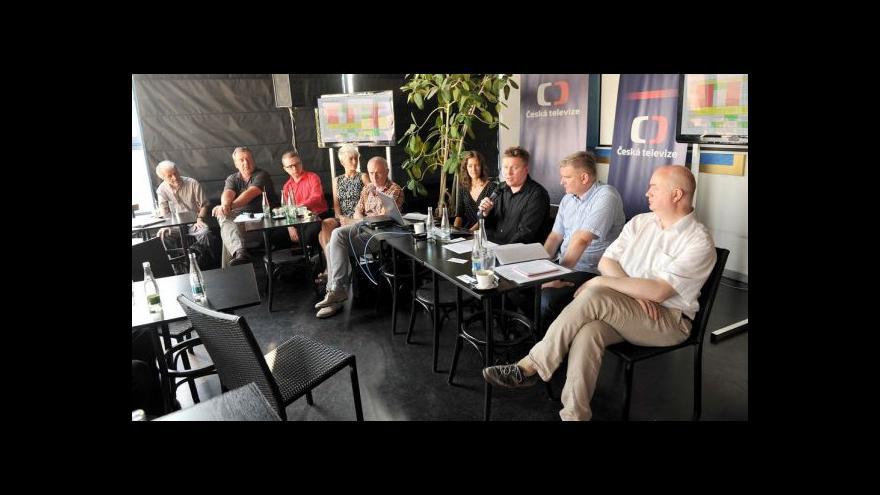 Video Moderátor Marek Hlavica o Tečce páteční noci