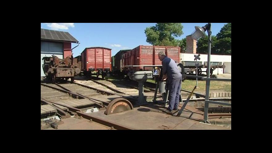 Video Jaroměř řeší zmizení lokomotivy z muzea