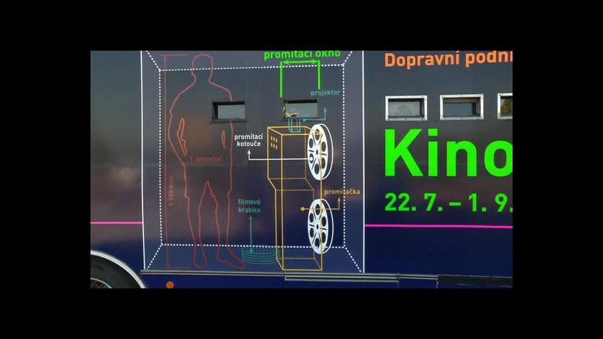 Video Ředitel DPP Milan Křístek o Kinobusu