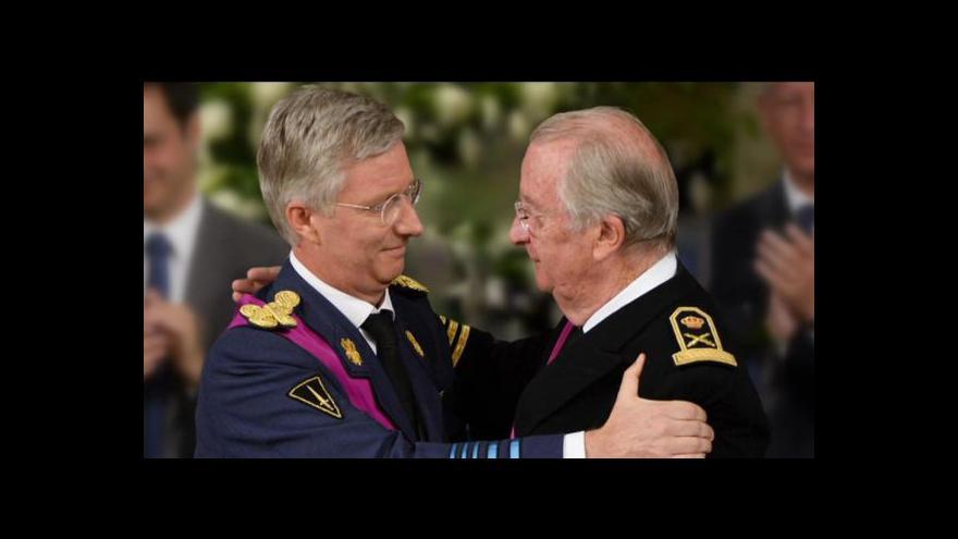 Video Belgie vítá nového krále