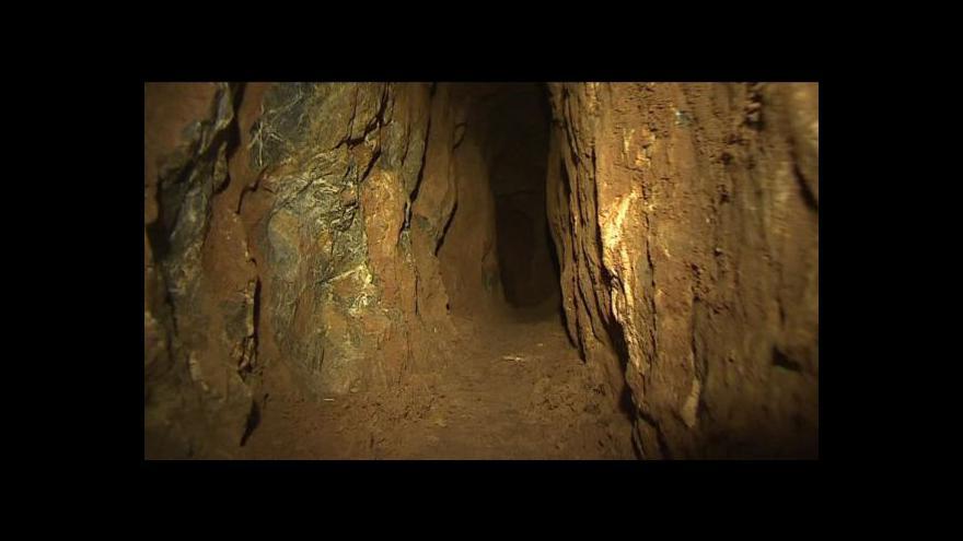 Video Nová krápníková jeskyně