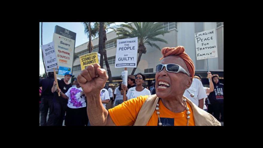 Video V amerických městech se opět protestuje