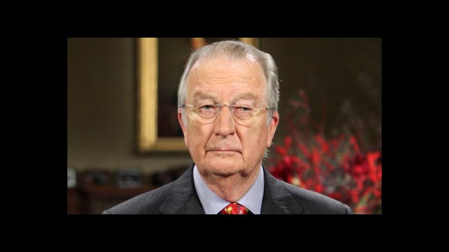 Video Belgický král Albert II. se rozloučil s občany