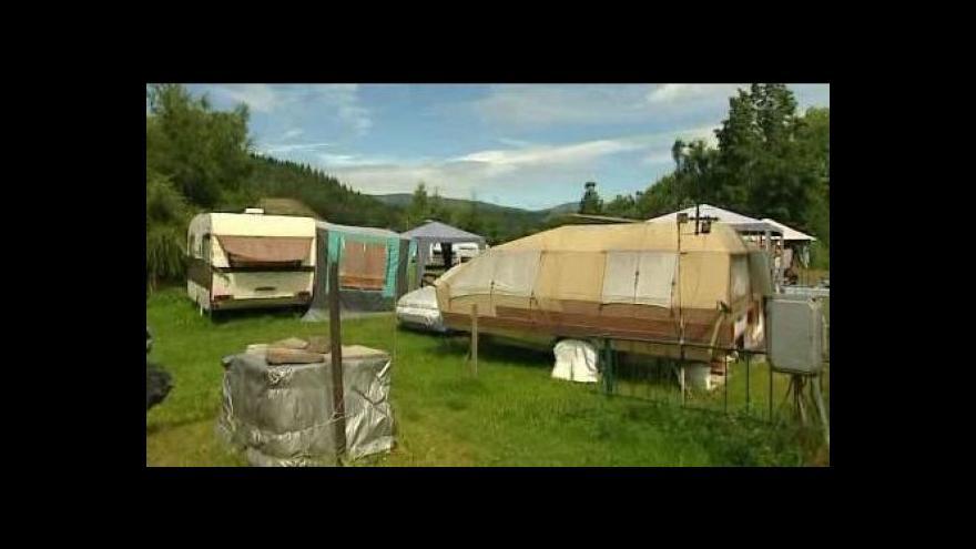 Video Situace v českých kempech tématem Událostí