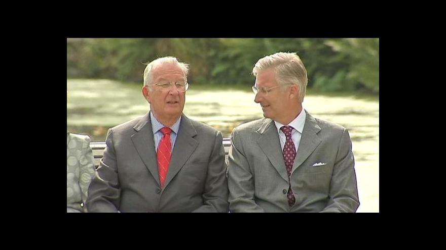 Video Události o výměně belgického krále