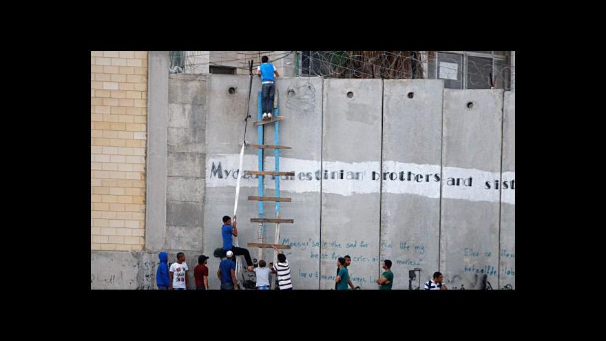 Video Začátek mírových rozhovorů mezi Izraelem a Palestinou je v nedohlednu