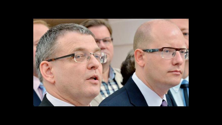 Video Brífink ČSSD k aktuální politické situaci a ke kauze Nagyová