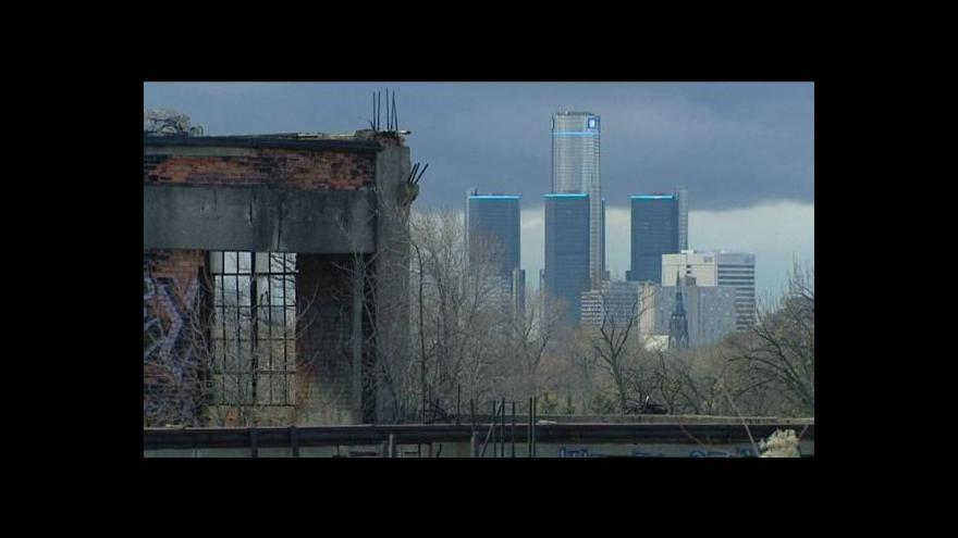 Video Detroit čelí nátlaku svých věřitelů (Události)