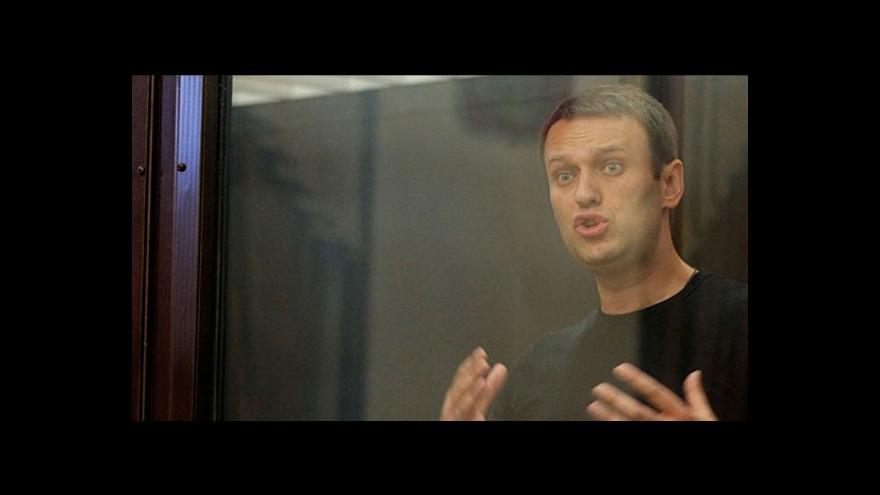 Video Ruský opoziční předák Navalnyj je dočasně na svobodě