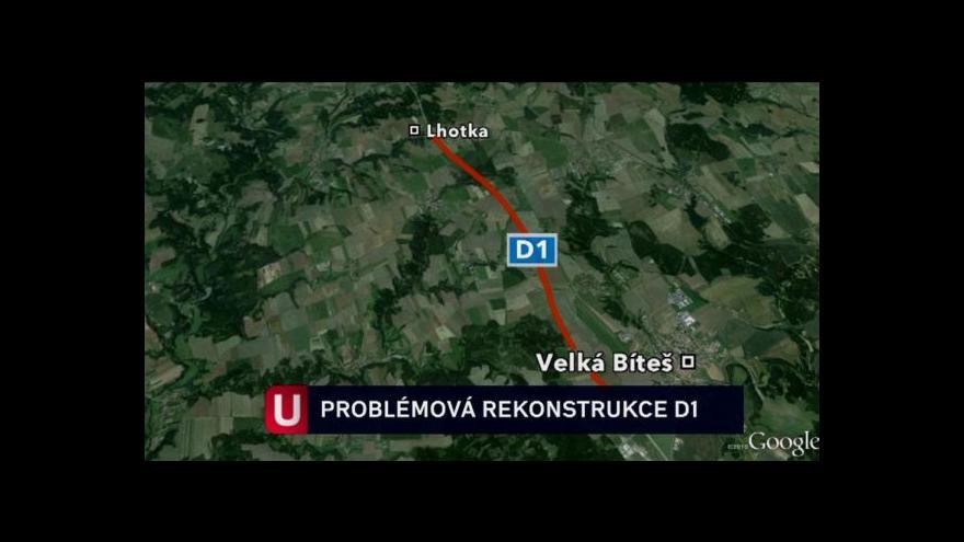 Video Modernizace dálnice D1 tématem Událostí