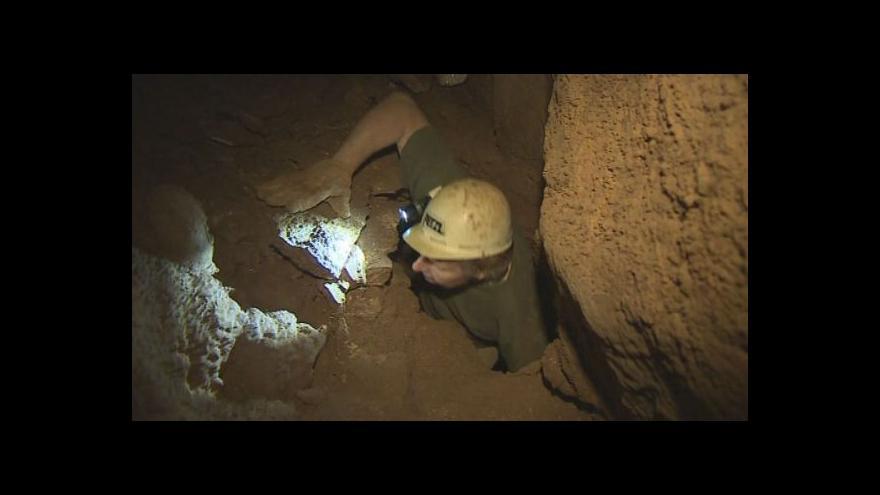 Video No comment: speleologové v Matalově Vymodlené jeskyni