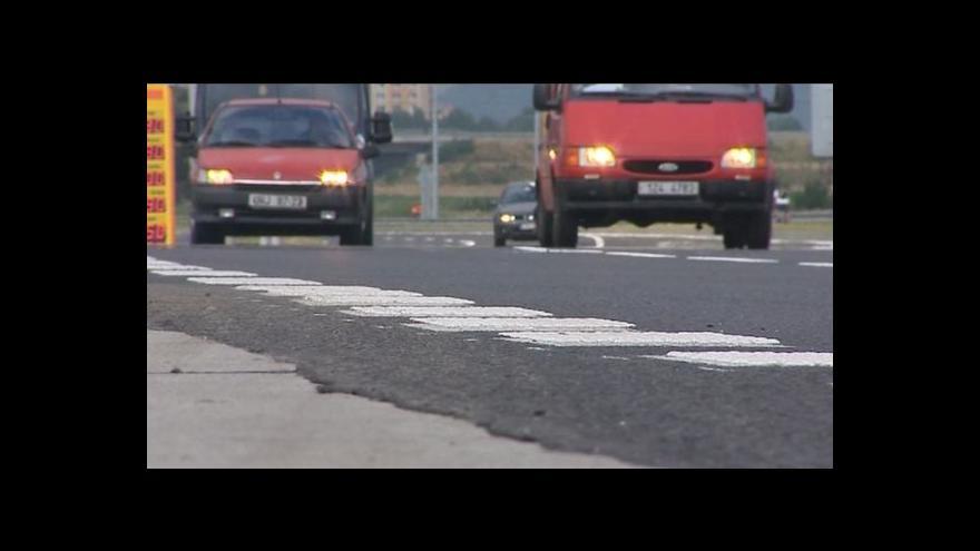 Video Luboš Dostál o otevření rekonstruované silnice