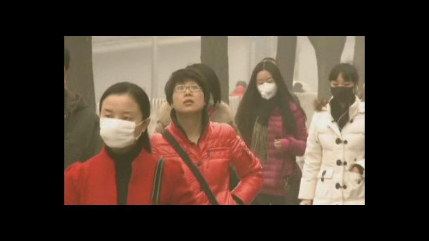 Video Kvalita vzduchu v čínském Pekingu se zhoršila