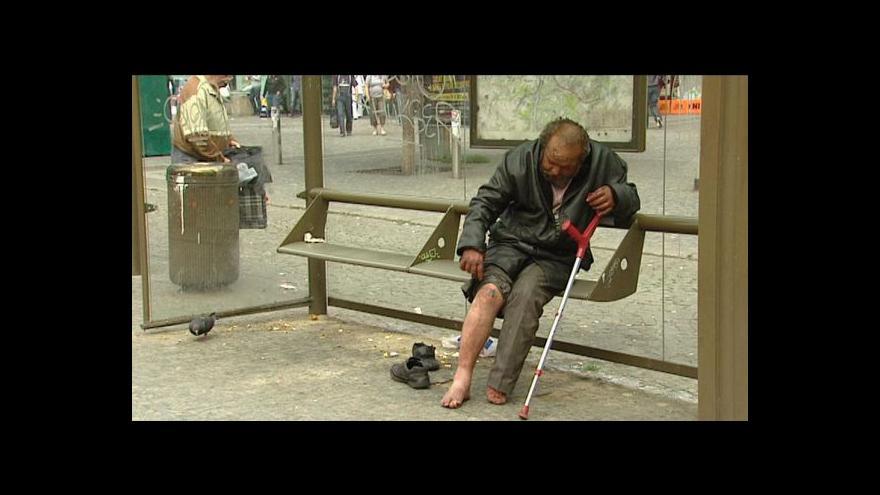 Video Primátor Hudeček o bezdomovectví