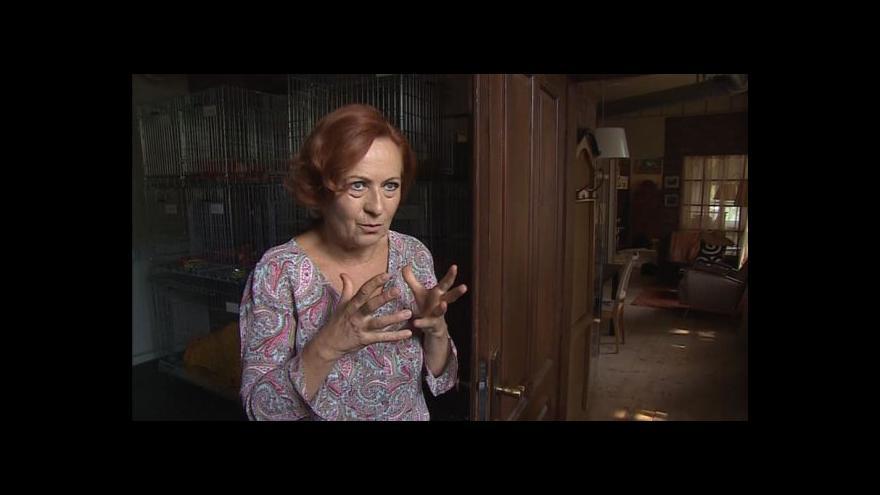 Video Simona Stašová o filmu Sebemilenec