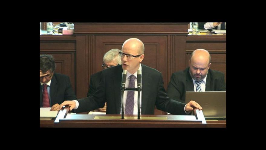 Video Události k dění ve sněmovně