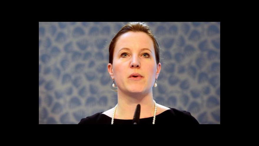 Video Sobotka, Langšádlová a Peake k hlasování o rozpuštění sněmovny