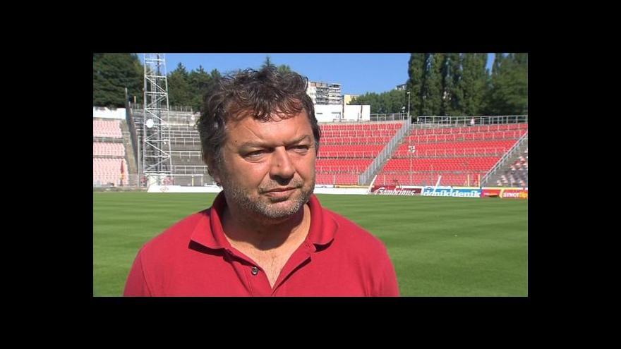 Video Rozhovor s trenérem Ludevítem Grmelou