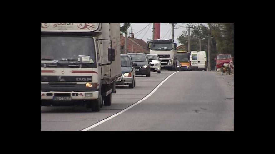 Video Téma kamionové dopravy v UvR