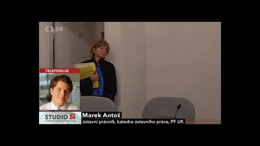 Video Telefonát Marka Antoše