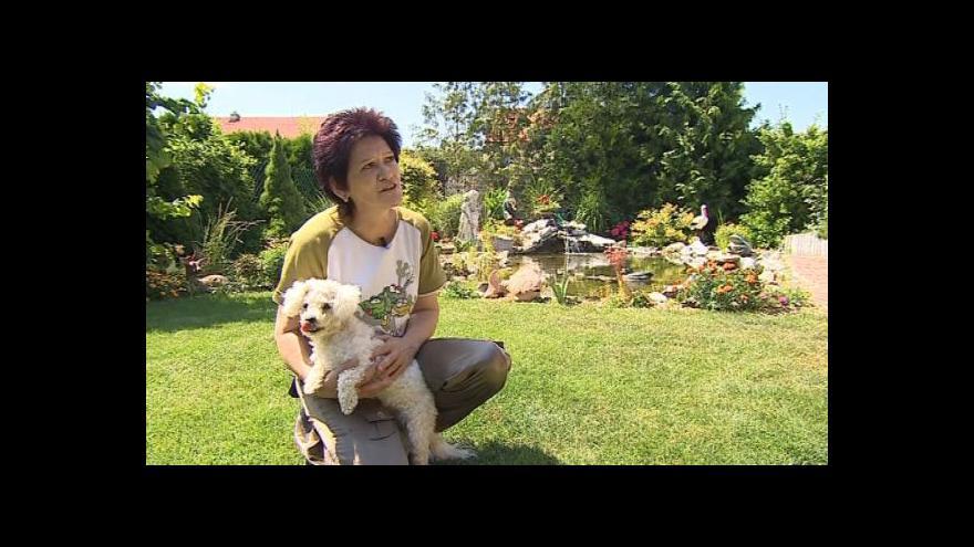 Video Obyvatelka Bořetic Nikola Otáhalová vznik hřitova vítá