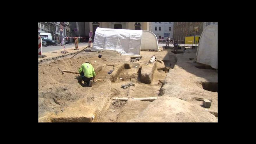 Video Lucie Pokorná o libereckých vykopávkách