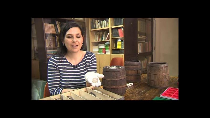 Video O muzejních pokladech hovoří numismatička Dagmar Grossmannová