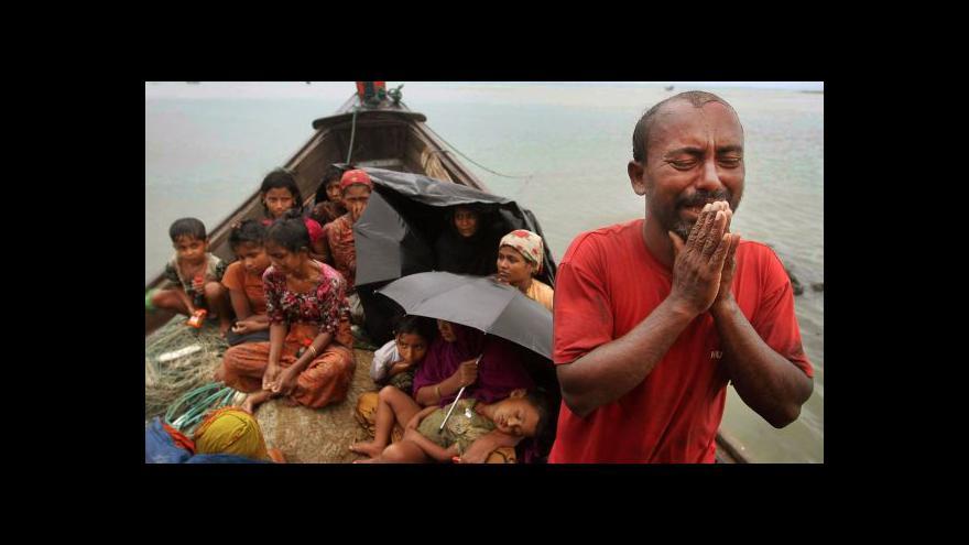 Video Barmský prezident slíbil propustit všechny politické vězně