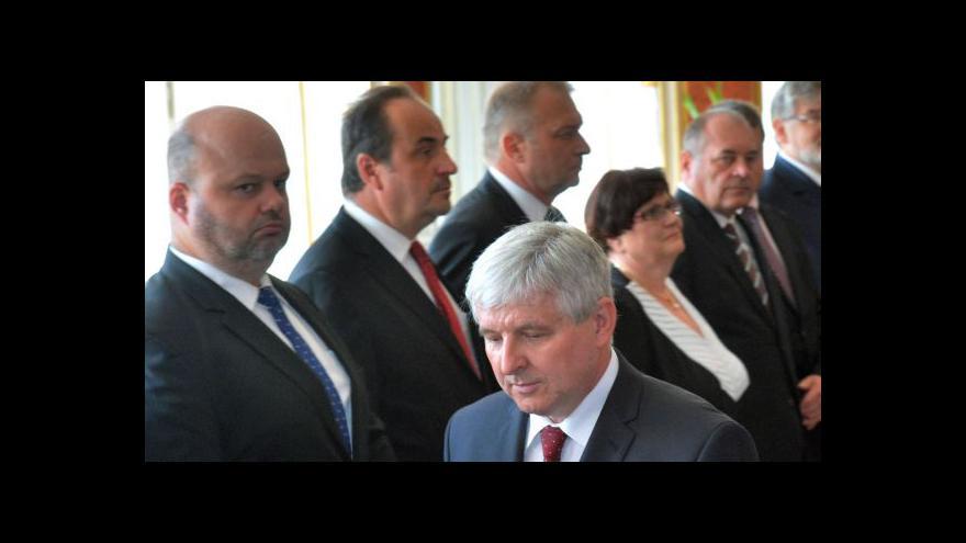 Video Hašek představil podmínky podpory Rusnokově vládě