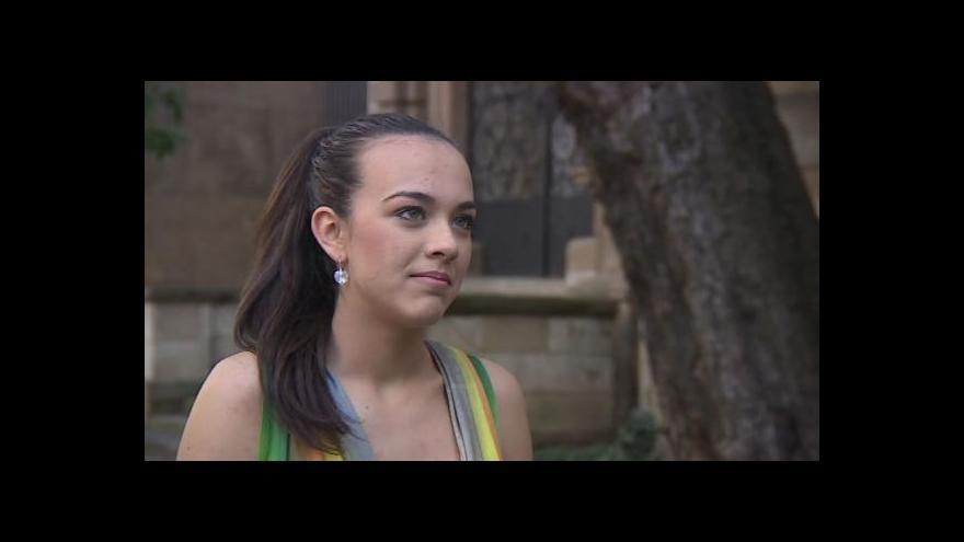 Video Rozhovor se zpěvačkou Máriou Bikárovou