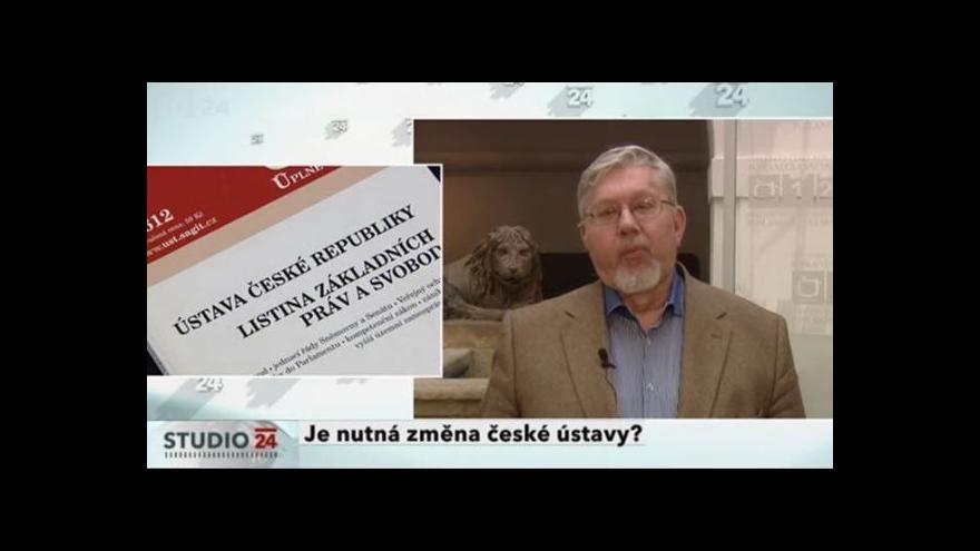 Video Aleš Gerloch k české ústavě
